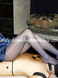 Pantyhose, Mistress, Foot, Worship