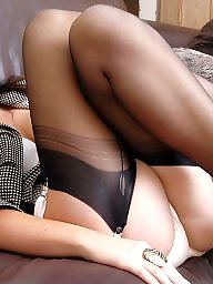 Nylon, Tease, Teasing, Nylon stockings, Stockings tease