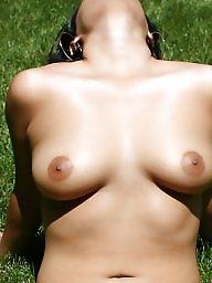 Bikini, Brunette ass, Micro bikini