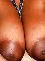 Black, Ebony bbw, Nipples, Areola, Nipple, Big black