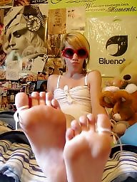 Feet, Young, Teen feet, Foot, Cute, Funny