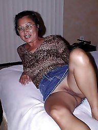 Interracial, Upskirt, Upskirt asian