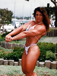 Retro, Muscle, Female