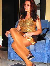 Pantyhose, Stocking feet, Teen pantyhose, Teen feet, Tight, Candids