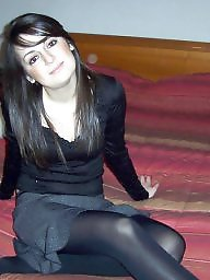 Upskirt, Stockings, Nylons, Upskirt stockings, Nylon stockings, Amateur nylon