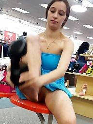 Shopping, Shop, Public nudity
