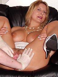 Fingering, Finger, Fingered, Sandy, Blonde milf