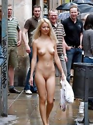 Naked, Women, Public boobs