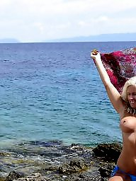 Mature beach, Blonde mature, Mature blonde, Beach mature, Public mature