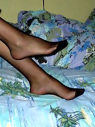Nylon feet, Nylon, Nylons, Feet nylon, Stocking feet, Amateur nylon
