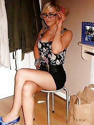 Heels, High heels, High, Teen heels, Stockings heels