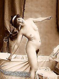 Lady, Bath, Ladies, Vintage amateurs