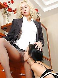 Orgasm, Mature lesbian, Maid, Lesbian mature, Deep, Stockings mature