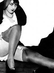 Heels, Vintage amateur, Vintage amateurs, Stockings heels