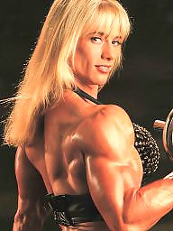 Retro, Muscle, Female, Muscles