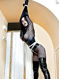 Bdsm, Bondage, Catsuit, Milfs, Milf stockings, Milf stocking