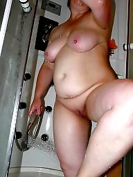 Shower, Mature sex, Mature shower