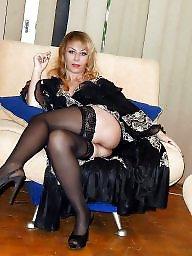 Milf stockings, Stocking mature, Sexy milf