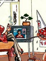 Femdom, Femdom cartoon, Art, Femdom cartoons, Femdom art, Cartoon femdom