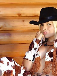 Dress, Cowgirl, Dressed, Teen dress, Sexy dress, Blonde teen