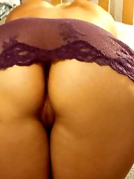 Lace, Purple, Blonde ass