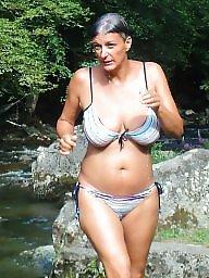 Bikini, Bikini mature, Mature bikini, Mature busty