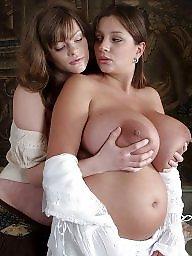 Big nipples, Lesbians, Boob