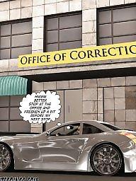 Interracial, Office, Interracial cartoons