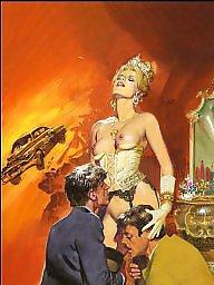 Vintage cartoons, Art, Vintage cartoon, Erotic, X art