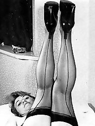 Nylon, Nylons, Hairy stockings, Black stocking, Stocking hairy, Hairy vintage