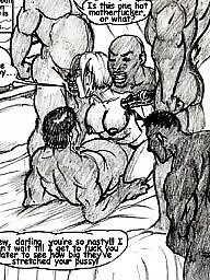 Cartoon, Cartoons, Interracial cartoon, Cartoon bdsm, Bdsm cartoon