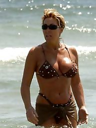Mature beach, Lady, Mature lady, Beach mature