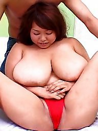 Corset, Monster, Asian bbw, Bbw tits, Asian big tits, Red
