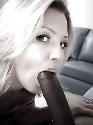 Sucking, Black cock, Suck, Sucking cock, Hot milf, Cock sucking