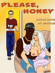 Interracial cartoons, Cartoon, Interracial cartoon