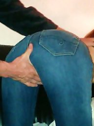 Jeans, Busty big boobs, Busty ass