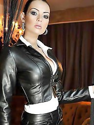 Leather, Skirt, Milf ass, Skirts, Milf leather, Leather skirt