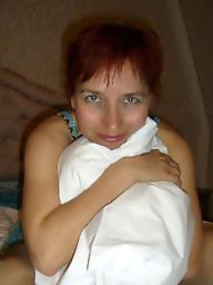 Russian milf, Exposed, Slut wife, Russian amateur