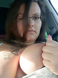 Car, Bbw boobs, The public
