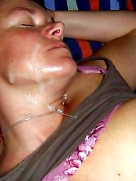 Facial, Facials, Whore, Passed out, Amateur facial, Whores