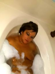 Shower, Bbw amateur, Bbw shower, Behind, From behind, In the shower