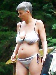 Busty mature, Mature bikini, Busty, Bikini mature