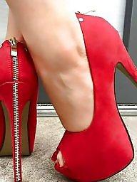 Heels, Stockings
