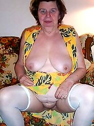 Stocking milf, Mature stocking