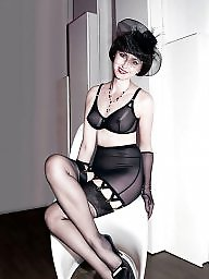 Girdle, A bra, Girdle stockings