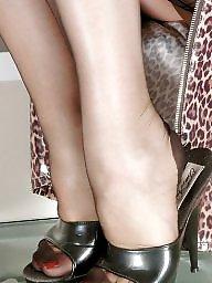 Older, Show, Legs, Lady, Ladies