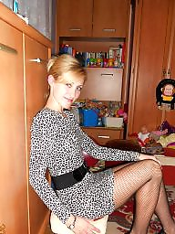Polish, Nylon, Nylons,  teen, Teen stockings, Nylon stockings