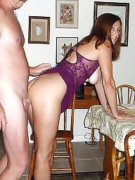 Lingerie, Amateur lingerie, Candy, Purple, Milf lingerie