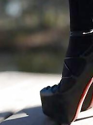 Stocking, Heels