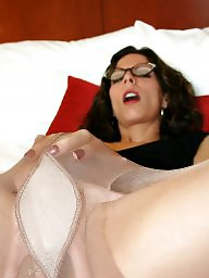 Nylon, Mature stockings, Nylons, Mature nylon, Mature stocking, Mature nylons